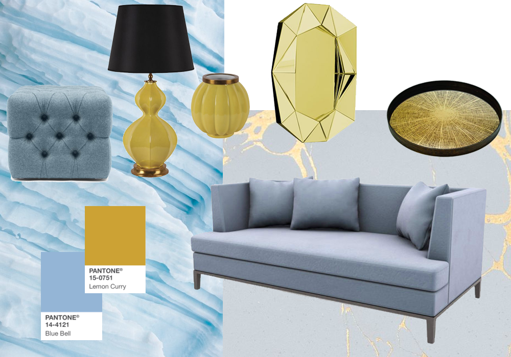 Pantone's 2017 Fall Colours in Interior Design