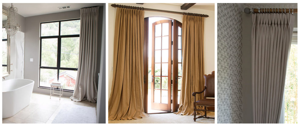 London Essentials - French Pinch Pleat Curtains