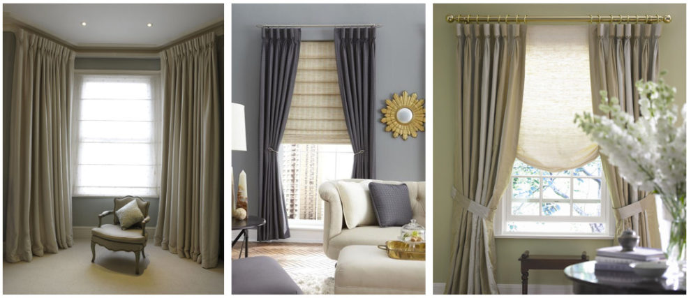 London Essentials Goblet Pleat Curtain Designs