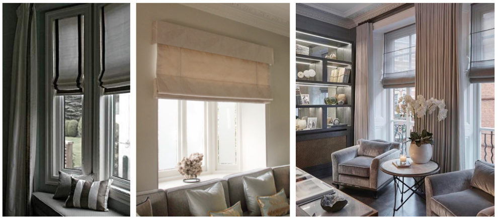 London Essentials - Roman Blinds
