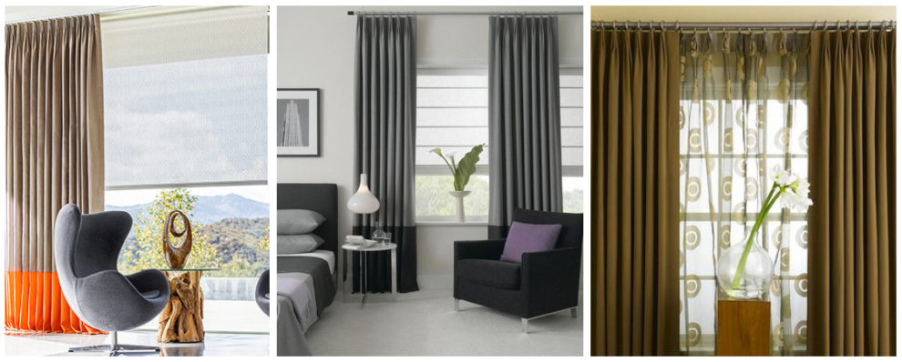 London Essentials - Tailored Pleat Curtains
