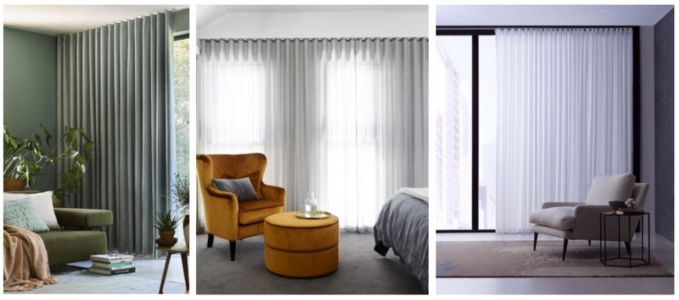London Essentials Wave Pleat Curtain Designs