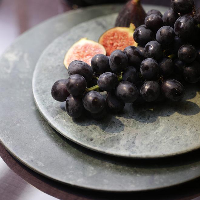 Bordo Marble Plate