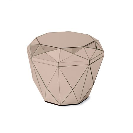 Diamond Table, Rose Gold
