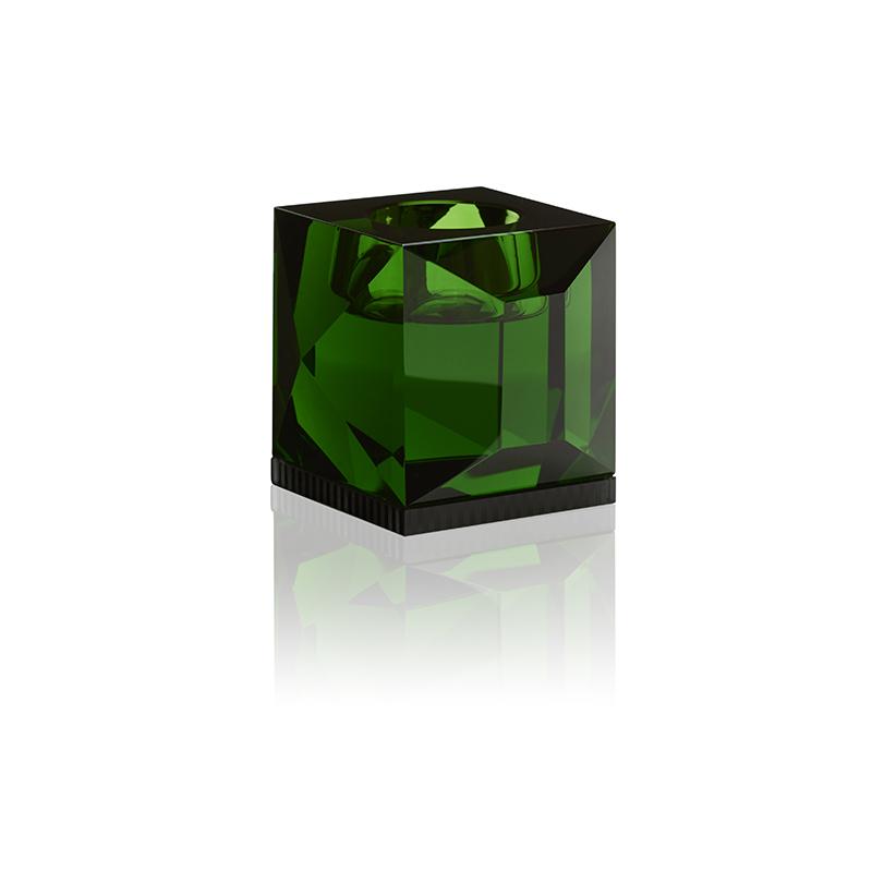 Ophelia Candleholder, Green
