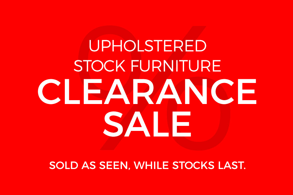 Stock Furniture Sale