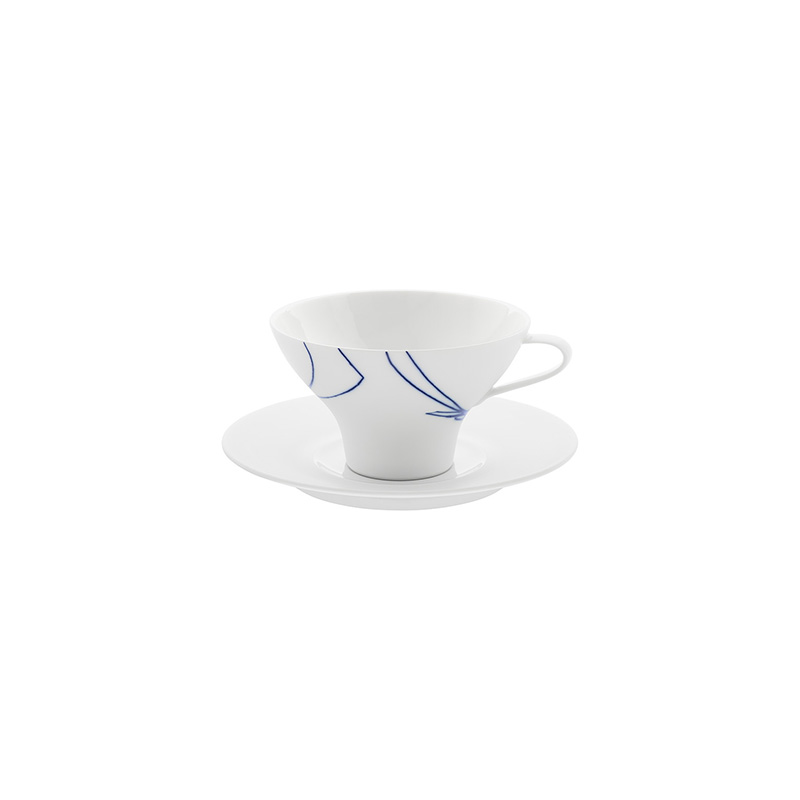 Granat Coffee/Tea Cup With Saucer
