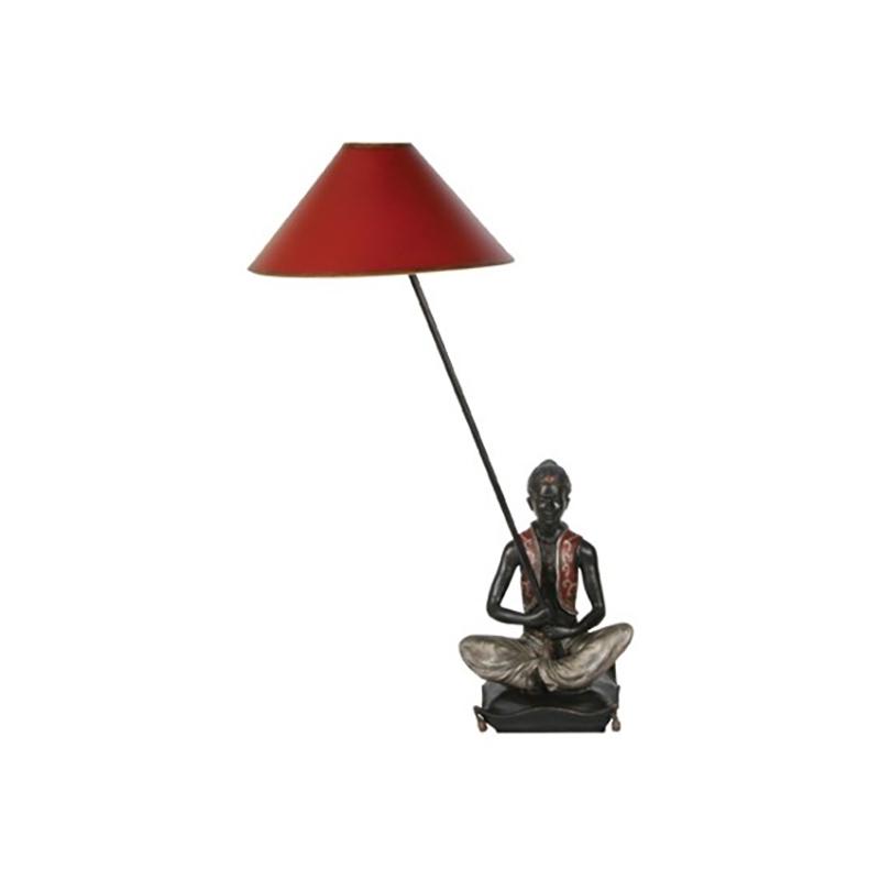 Oriental Figurine Lamp