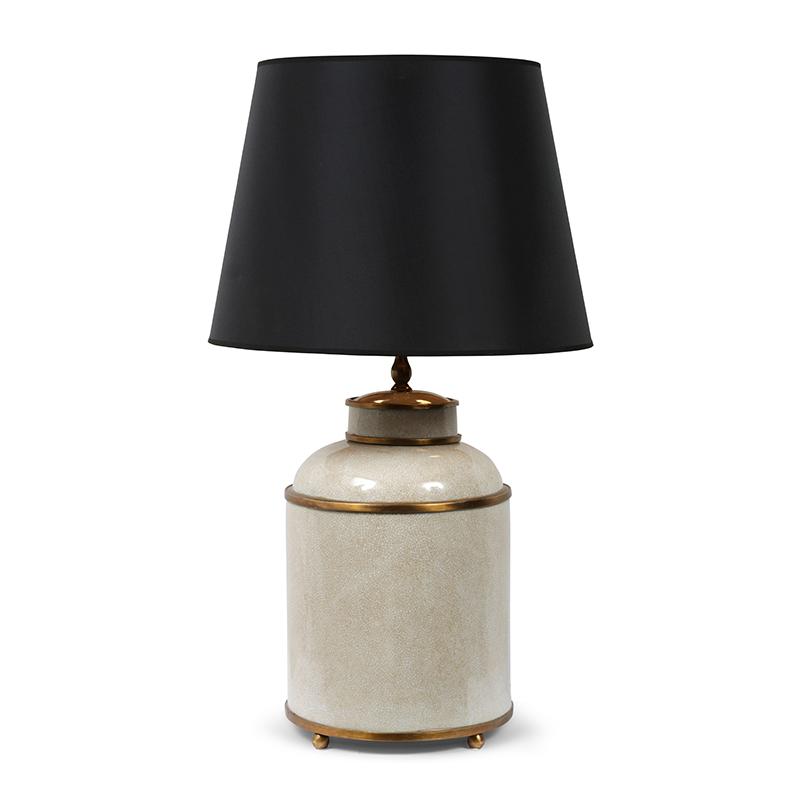 Tea Caddie Lamp