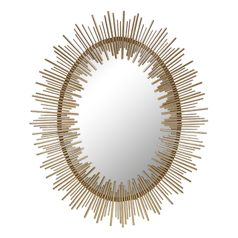 Cotta Mirror, Gold