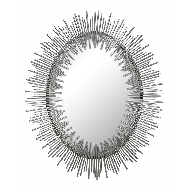 Cotta Mirror, Silver
