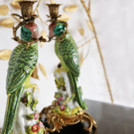 LE-Parrot-Candleholders-Green-1