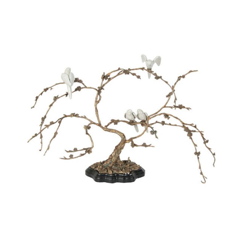 Bird Tree, White