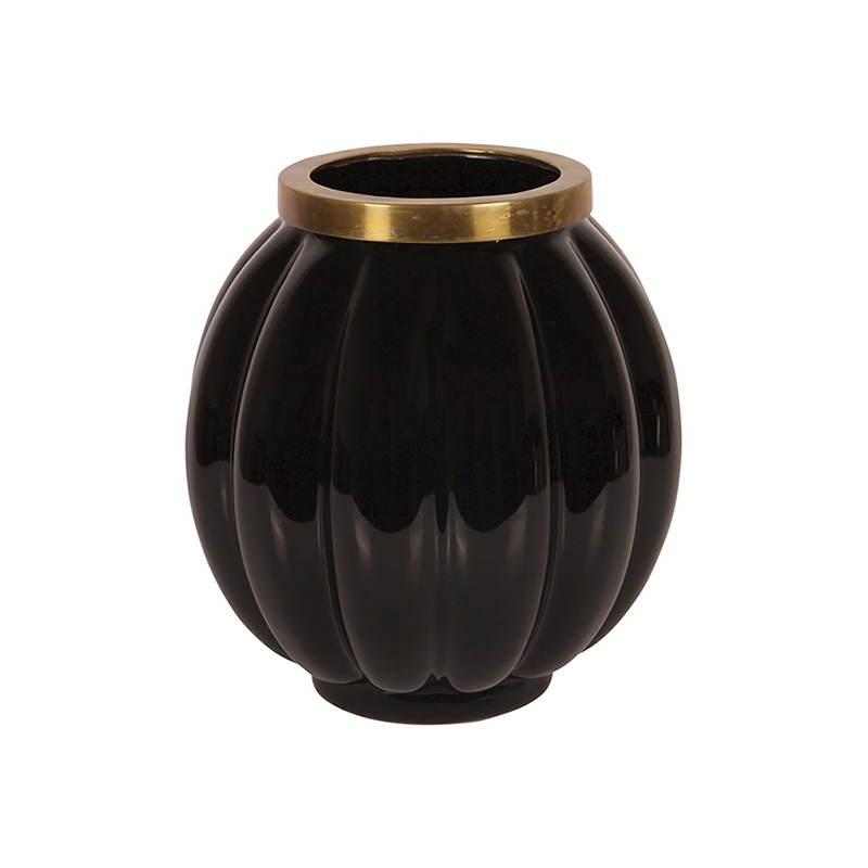 Black Femvelar Vase, Small