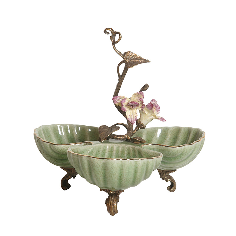 Eden Three Bowl Stand