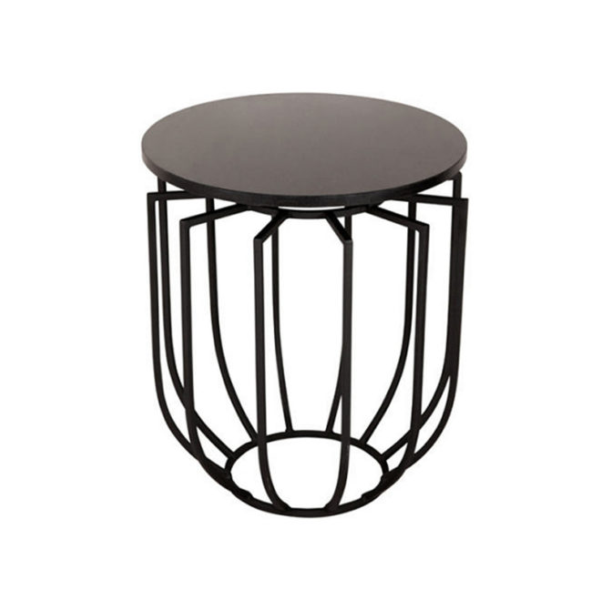 Jaula Table, Brown Small