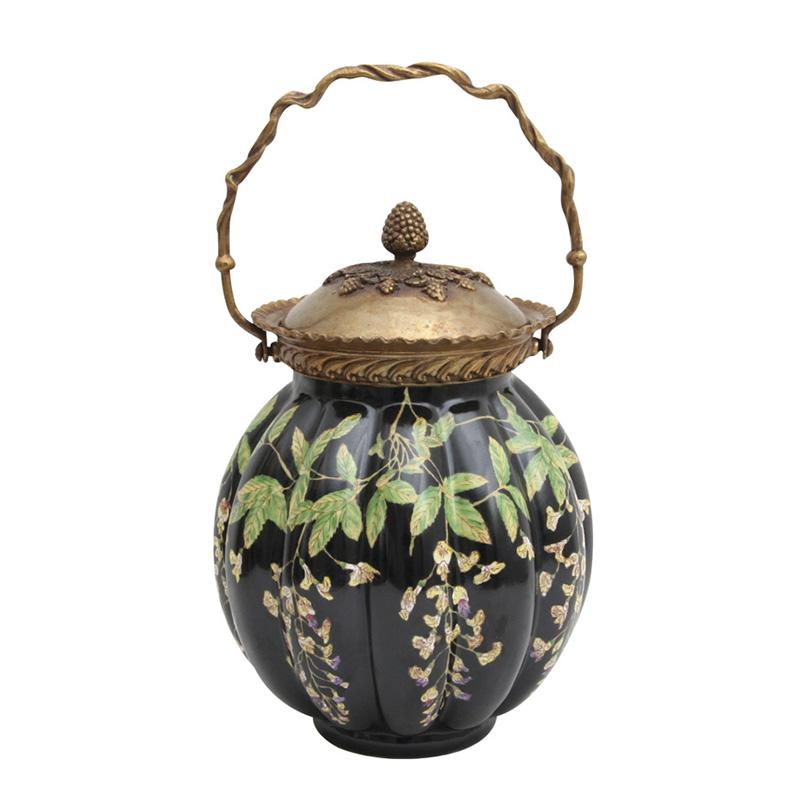 Wisteria Jar