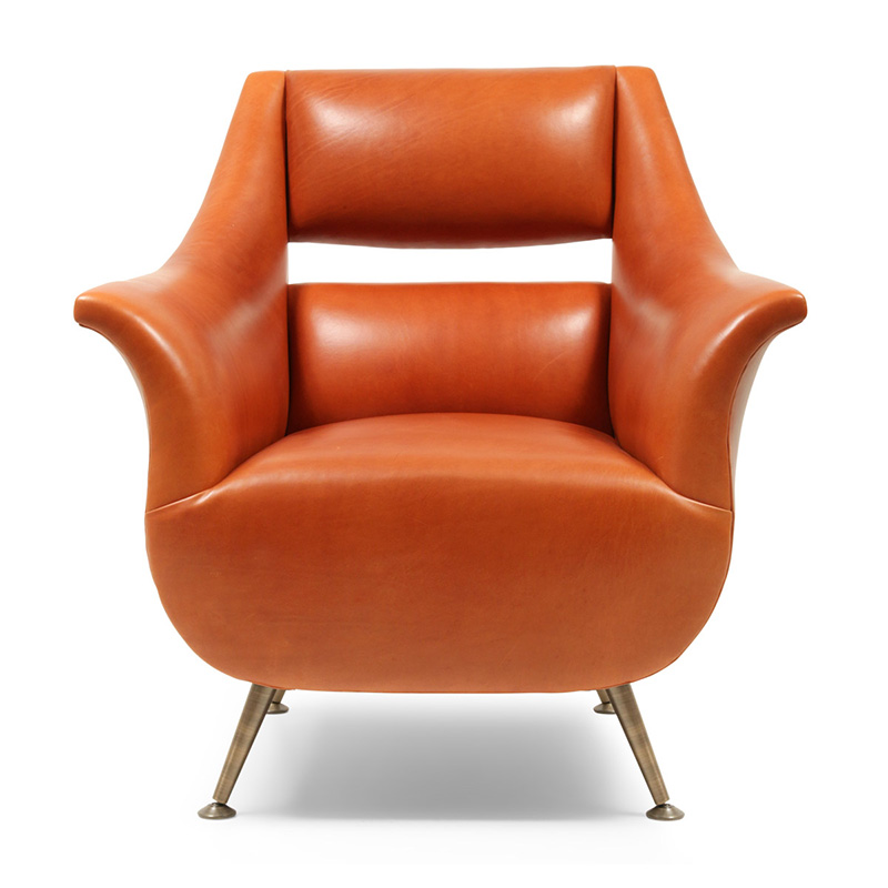 Bespoke Armchair, Orange