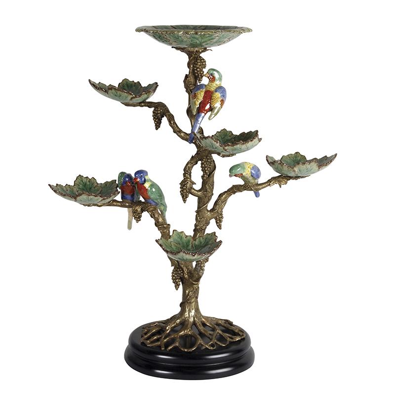 Eden Bronze Stand with Birds