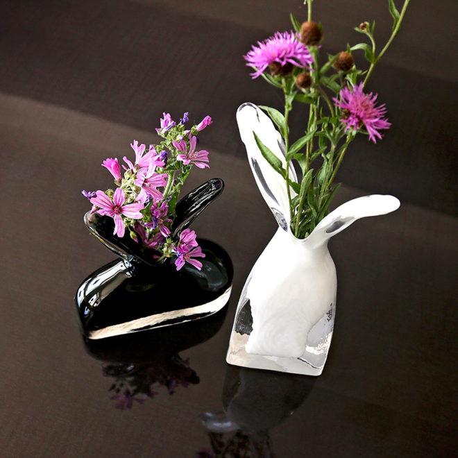 Futte Vase, Tall White