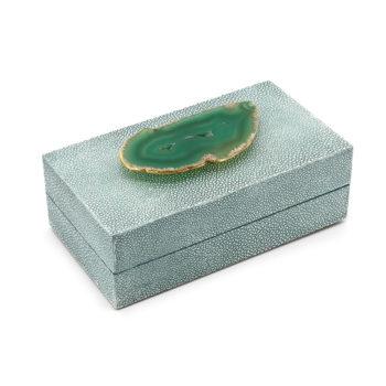 Gemma Box, Green Agate