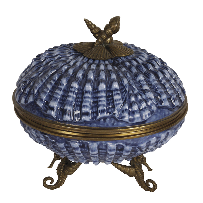 Shell Box, Blue