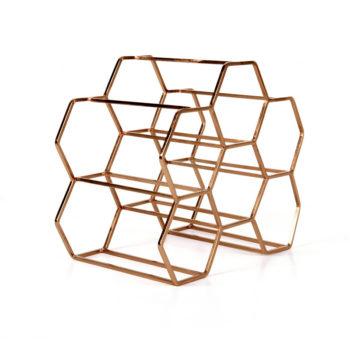 Covi Wine Rack, Copper (6)