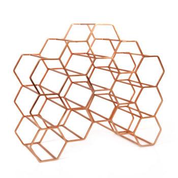 Covi Wine Rack, Copper (15)
