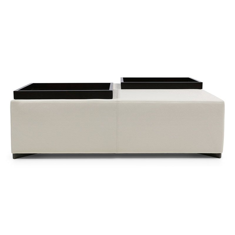 London Essentials Twain Ottoman