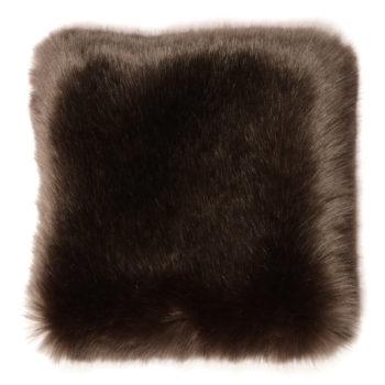 Faux Fur Throw, Anthracite