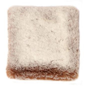 Faux Fur Throw, Chataigne
