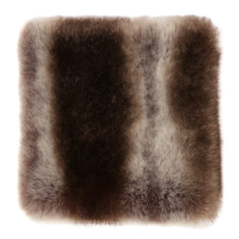 Faux Fur Throw, Chinchilla