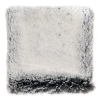 Faux Fur Throw, Glacier