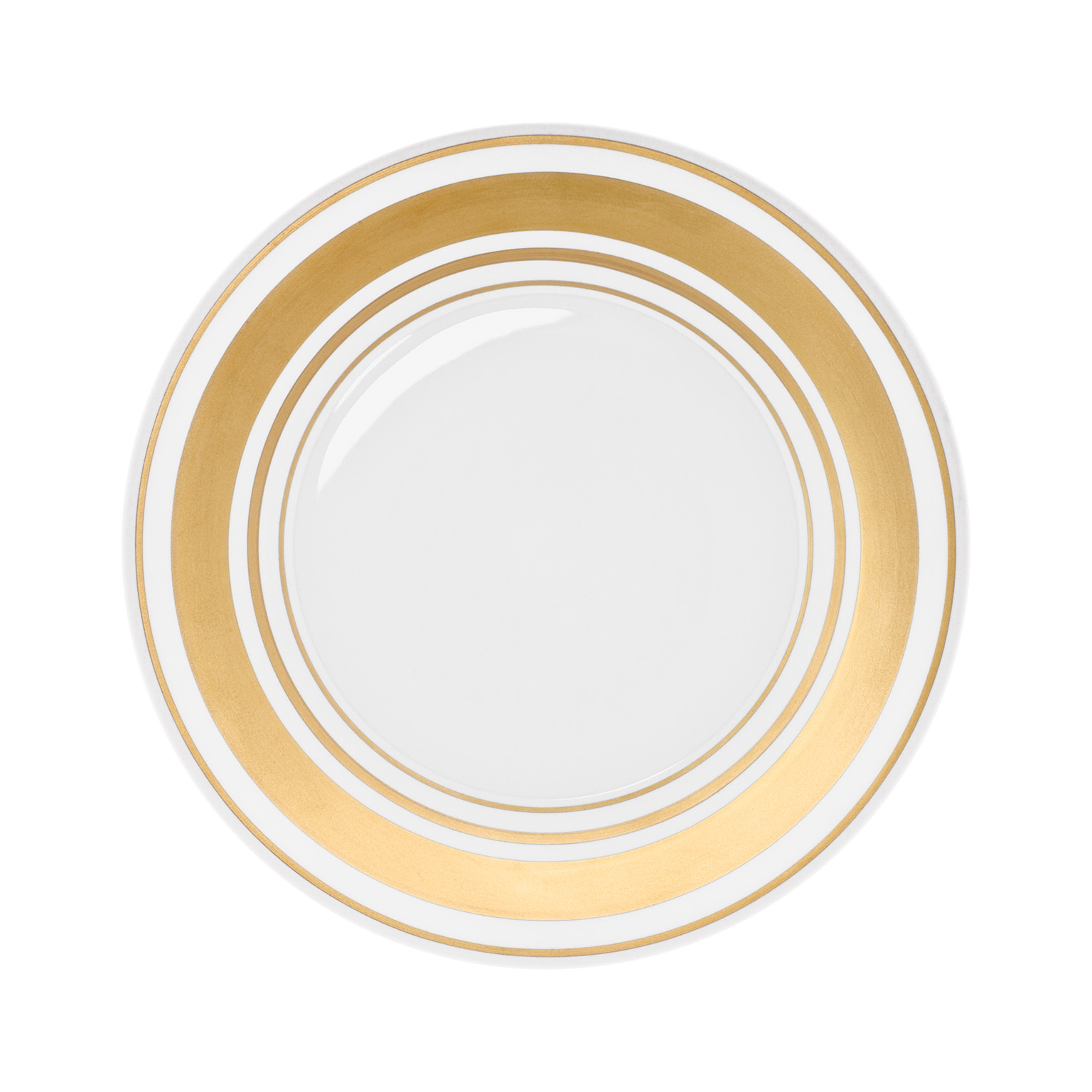 Glamour Gold Dinner Plate