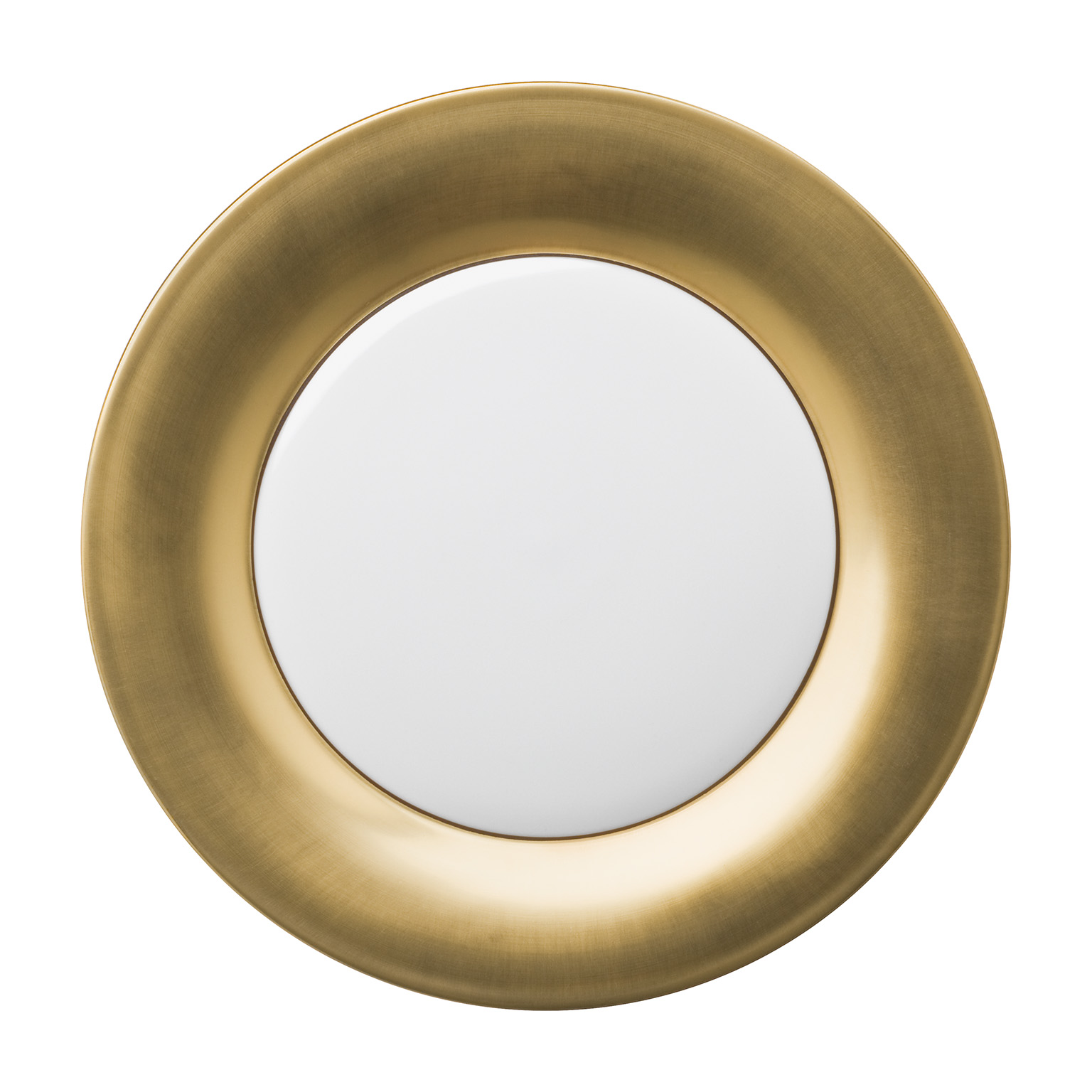 Polite Gold Presentation Plate