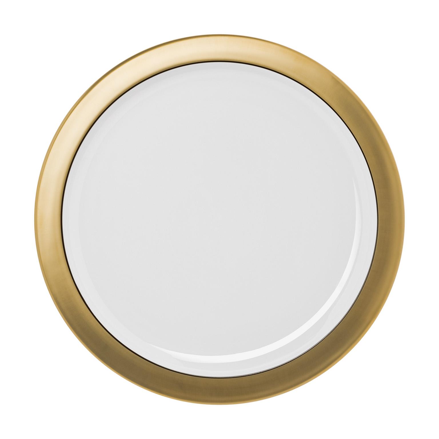 Polite Gold Carving Platter