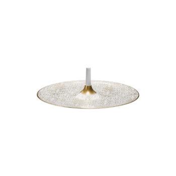 Alif Gold Spinner Plate