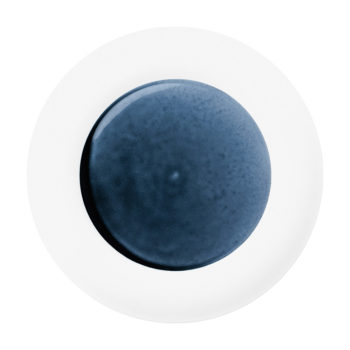 Blue Silent Charger Plate