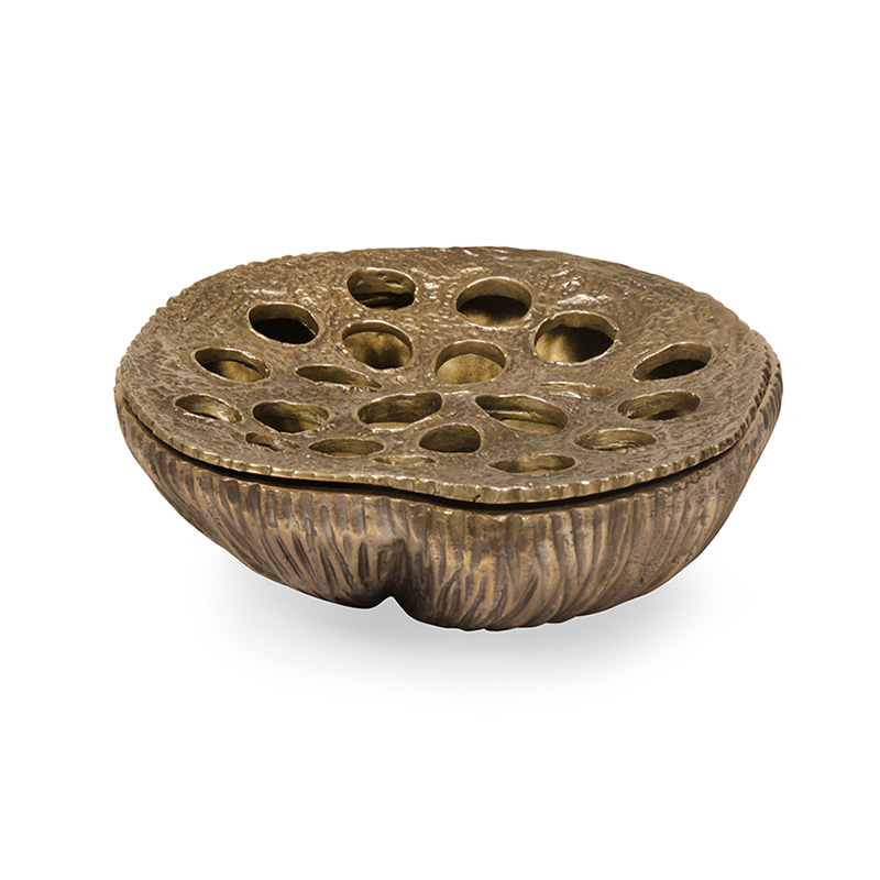 Brass Lotus Bowl, Large