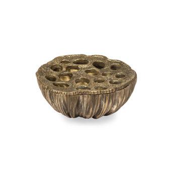 Brass Lotus Bowl, Small