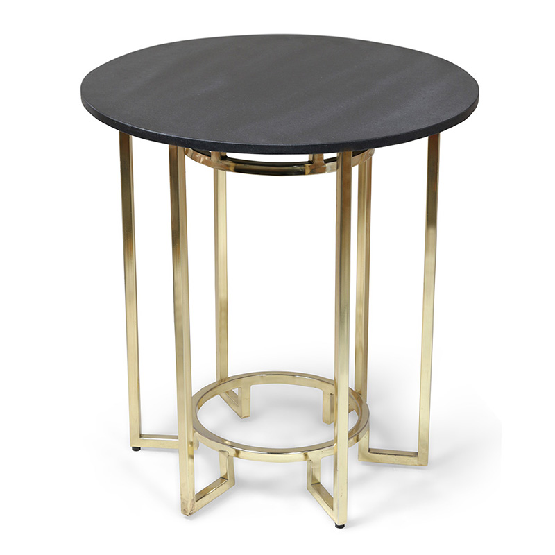Coje Side Table, Brass