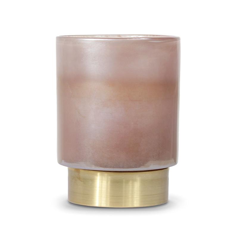 Beltra Candleholder, Rose Pink