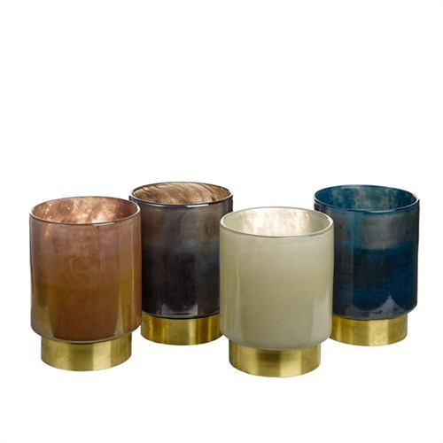 Beltra Candleholders, Set of 4