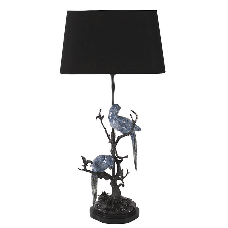 Parrots Lamp, Blue
