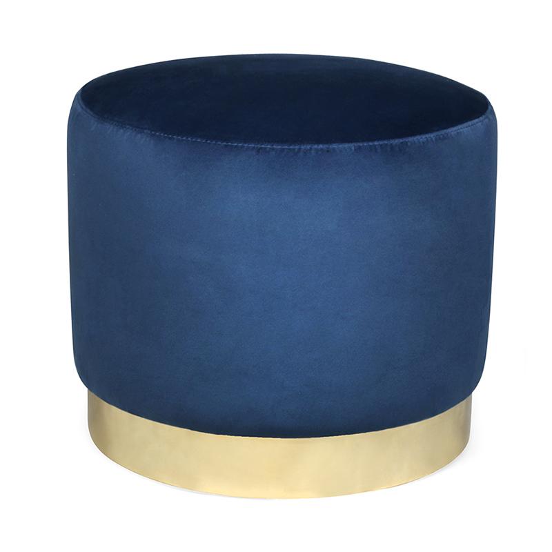 Blyth Ottoman, Blue