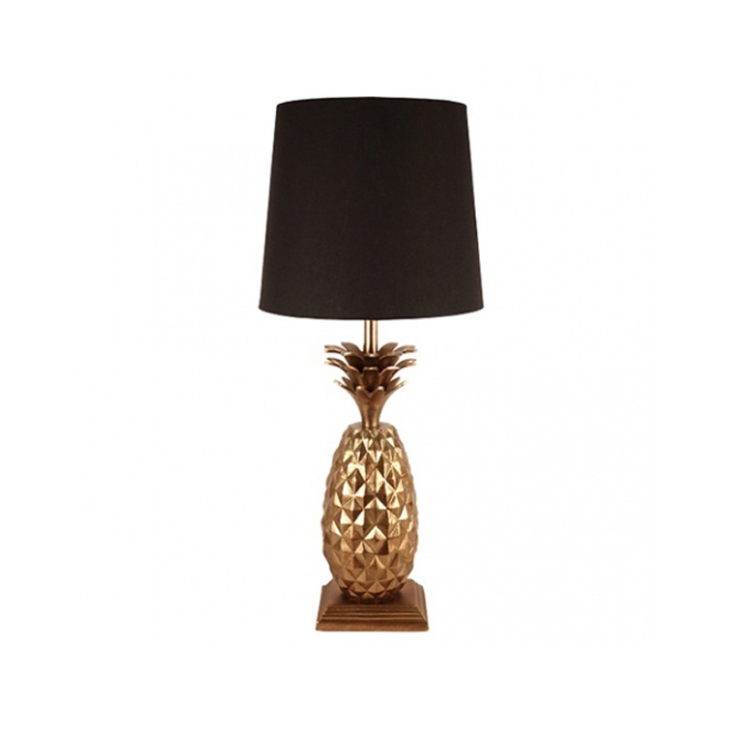 Pineapple Lamp, Gold