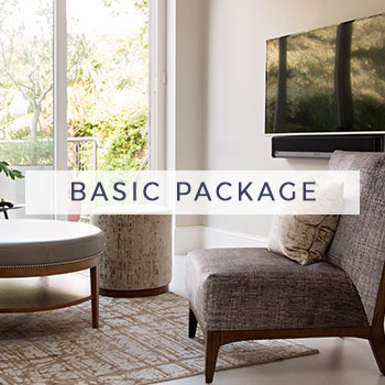 London Essentials Basic Interior Design Package