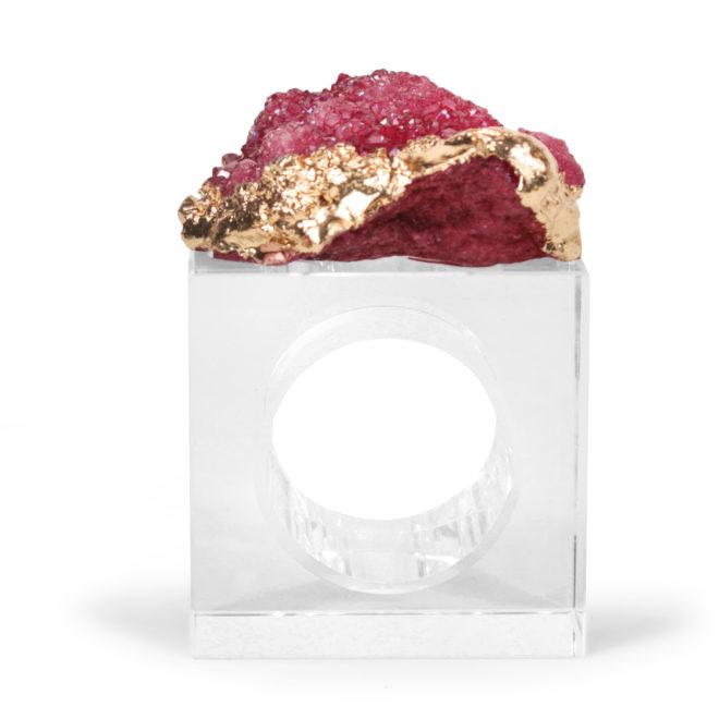 Eros Napkin Ring, Fuchsia