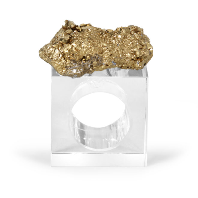 Eros Napkin Ring, Gold