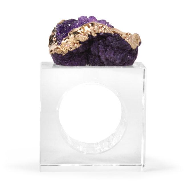 Eros Napkin Ring, Violet